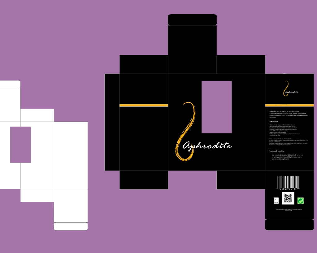 Aphrodite Package Design