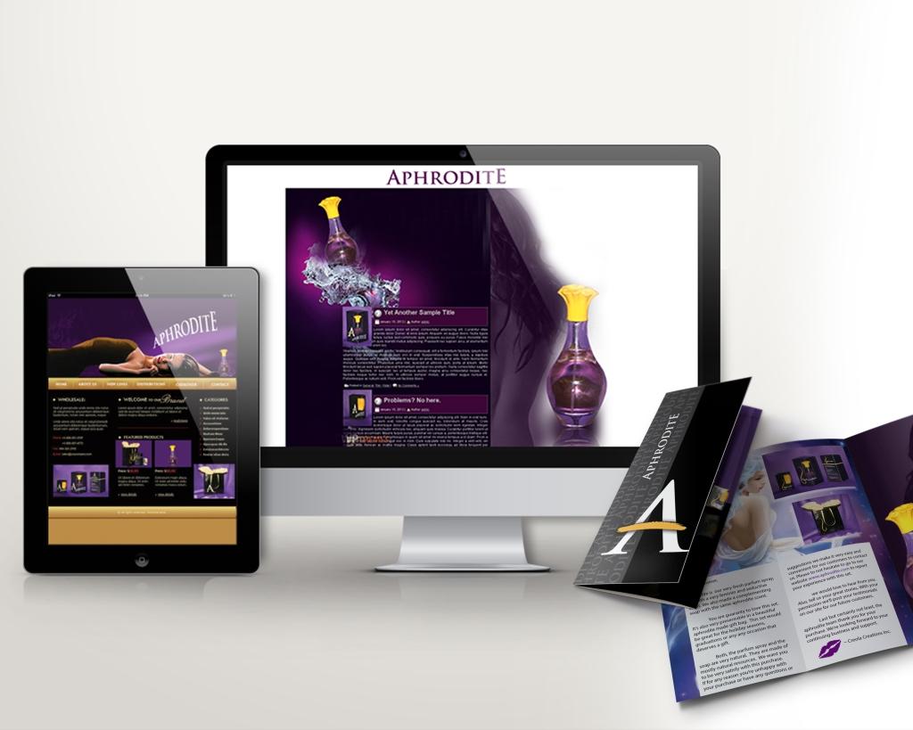 Aphrodite Web Page