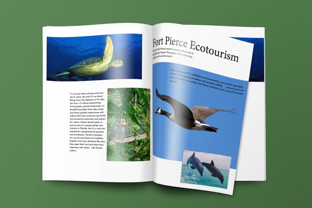 Ecotorism Magazine Page