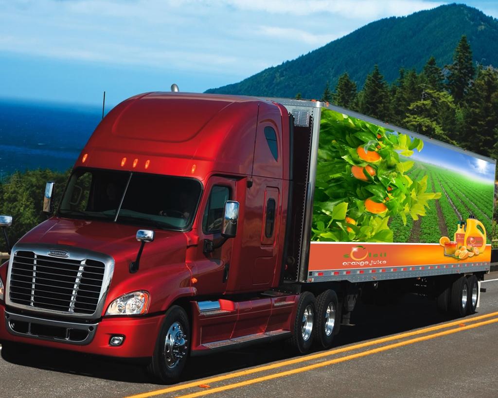 Soleil Orange Juice Truck