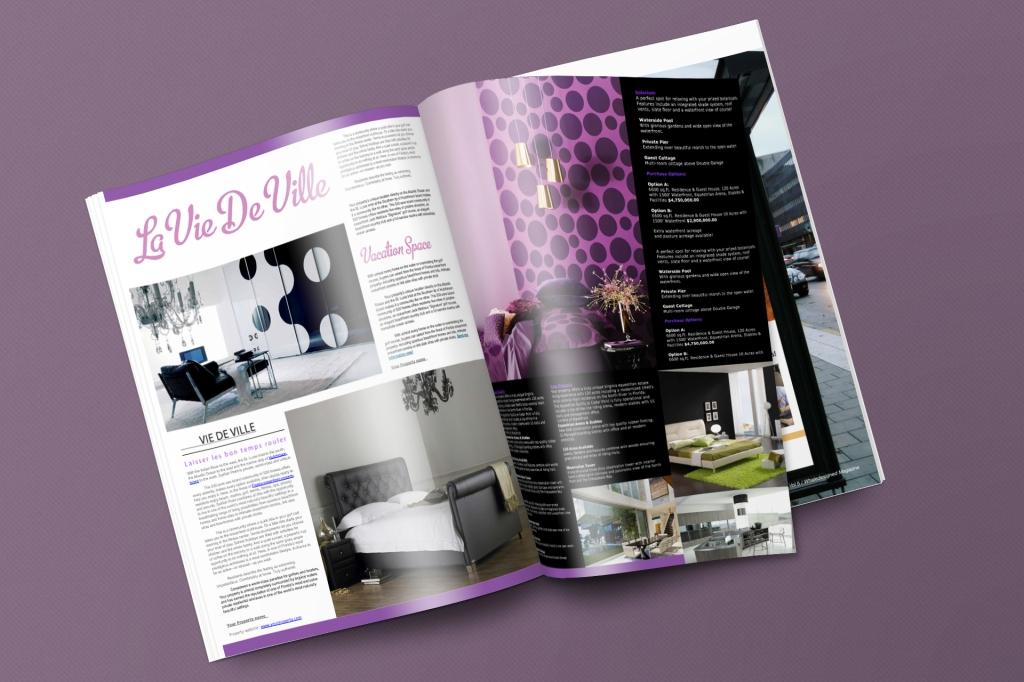 Vie De Ville Magazine (Bedroom)